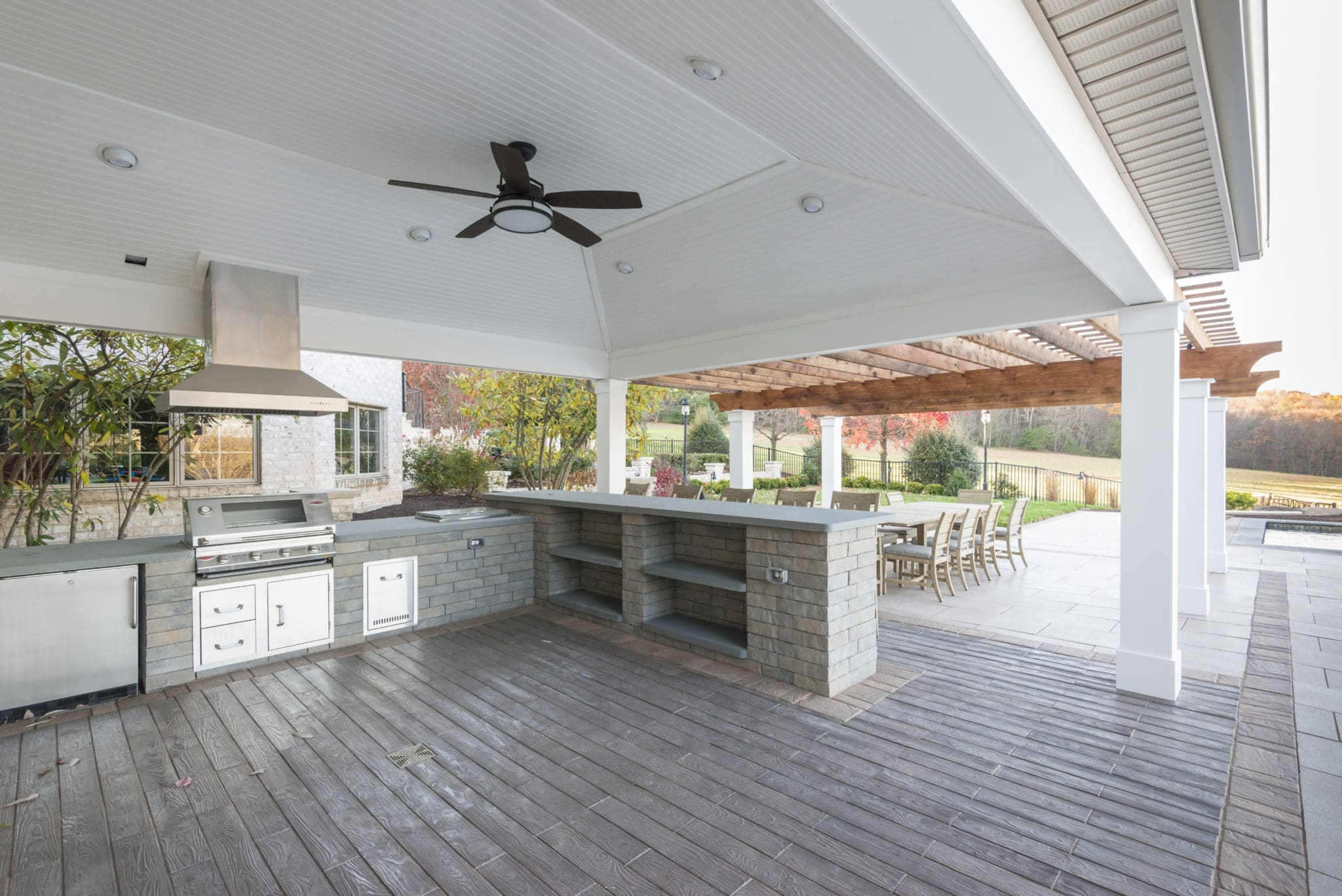 Outdoor Kitchen on Patio