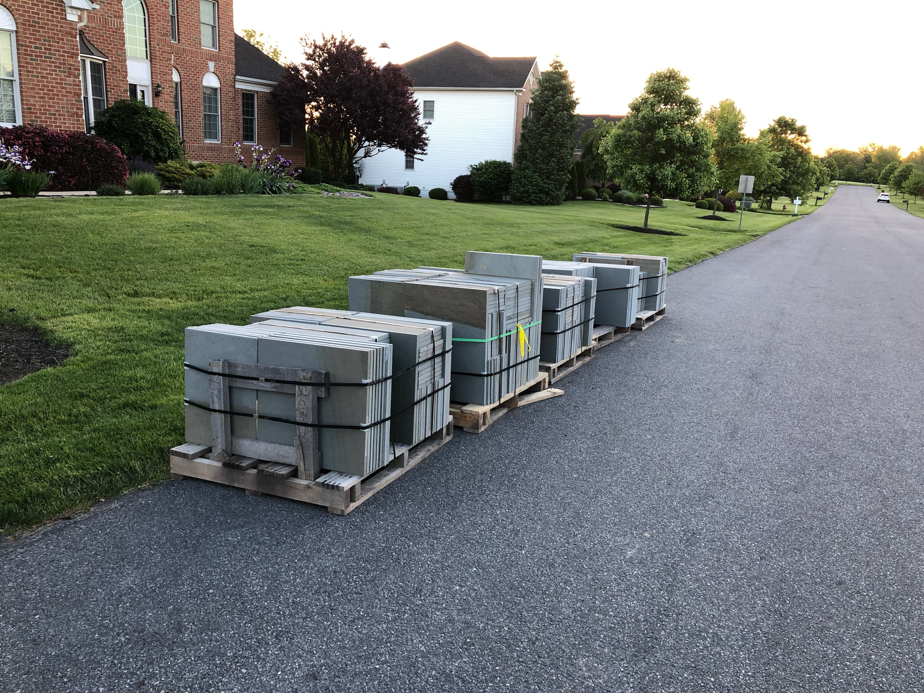 Delivery of Material